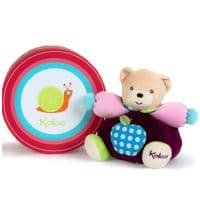 Мишка Kaloo 9632587 мягкая игрушка Small Chubby Bear Apples 18 см Коллекция Kaloo Colours  Франция