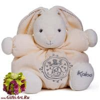 Кролик Kaloo 9621475 мягкая игрушка Medium Cream Rabbit Высота 25 см Коллекция Kaloo PERLE  Франция