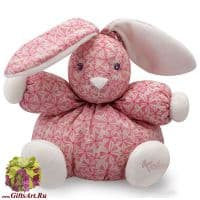 Кролик Kaloo 9698644 мягкая игрушка Small Rabbit Fashion Высота 18 см. Коллекция Petite Rose Kaloo Франция