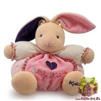 Кролик Kaloo 9698590 мягкая игрушка Medium Rabbit Высота 25 см. Коллекция Petite Rose Kaloo Франция